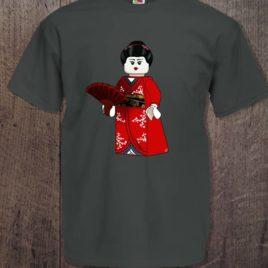 Camiseta LEGO geisha para chico