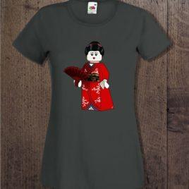 Camiseta LEGO geisha para chica
