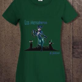 camiseta catwoman chica