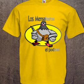 camiseta los mensaheros el podcast chico